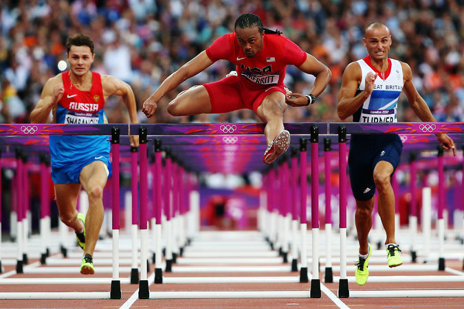 Olympic Hurdler Isn't Letting Disease Stand in His Way.