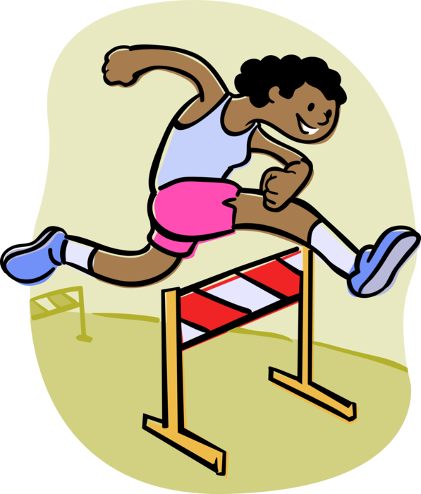 Track clipart hurdler, Track hurdler Transparent FREE for.
