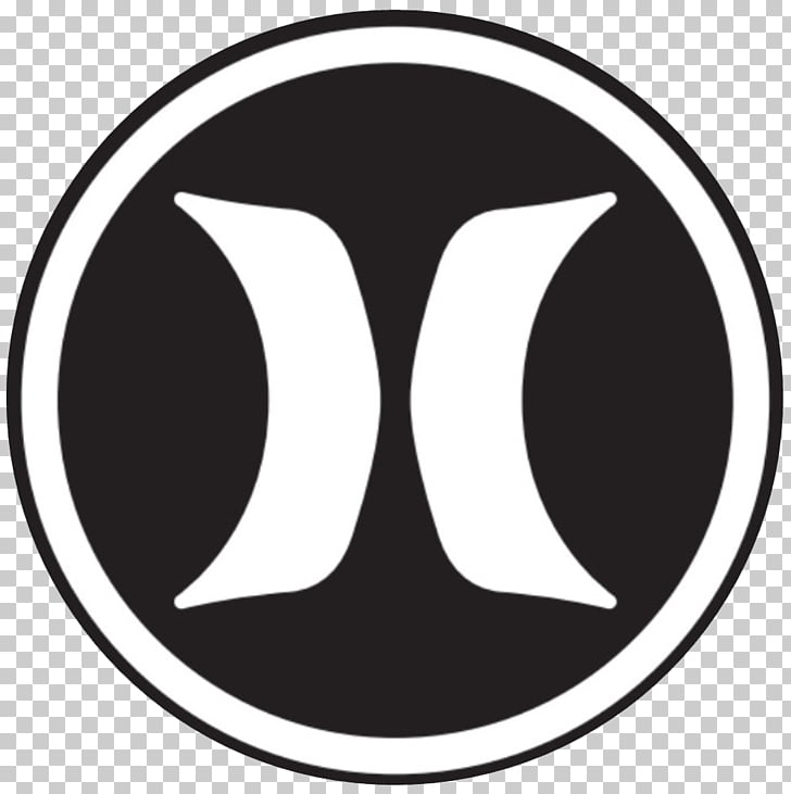 Logo Hurley International Sticker Decal Quiksilver, h.
