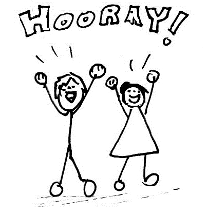 Hooray For The Weekend Clipart.