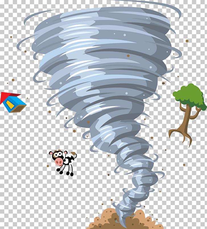 Tornado Cartoon Animation , hurricane, tornado illustration.