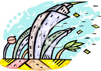 Cartoons Hurricane Clipart.