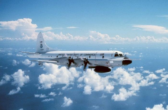 Hurricane Hunter Aircraft.