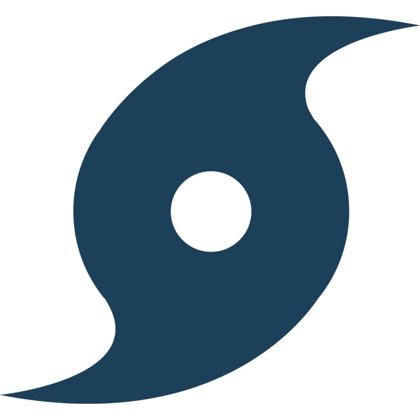 Download Free png Darkblue Hurricane Icon.