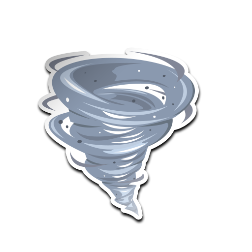 Tropical cyclone Tornado Clip art.