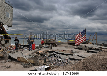 Hurricane Sandy Stock Photos, Royalty.
