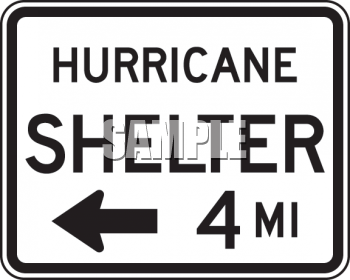 Hurricane Shelter Clipart.