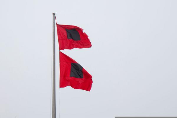 Hurricane Warning Flag Clipart.