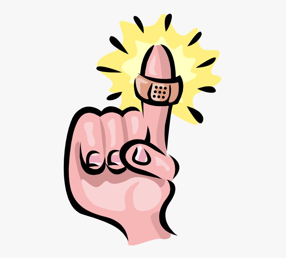 Finger Clipart Hurt.