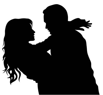 Free Husband And Wife Silhouette, Download Free Clip Art.