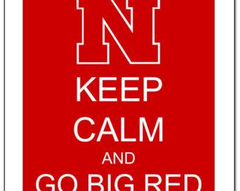 Nebraska football clipart.