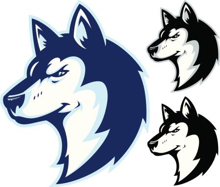 Husky Clip Art, Vector Images & Illustrations.