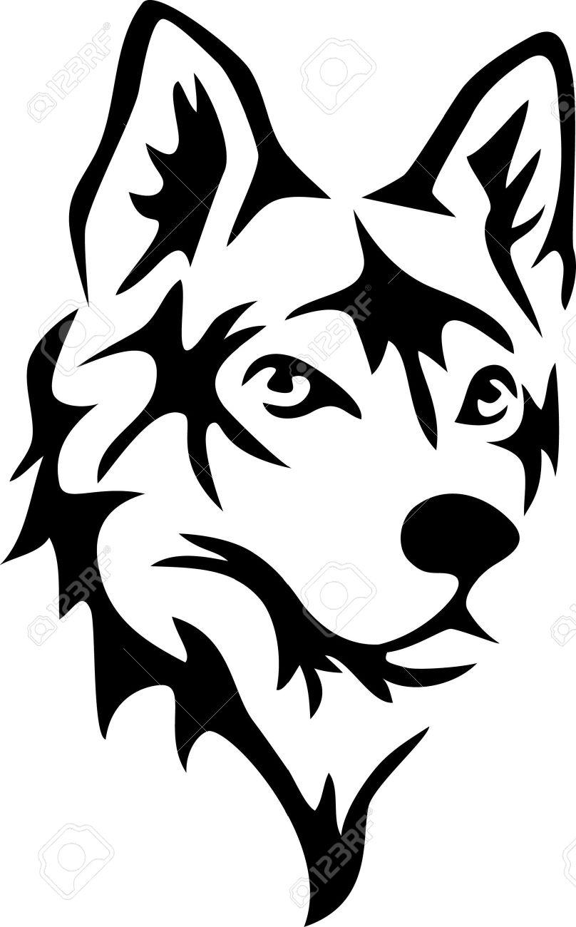 huskies head clipart Clipground