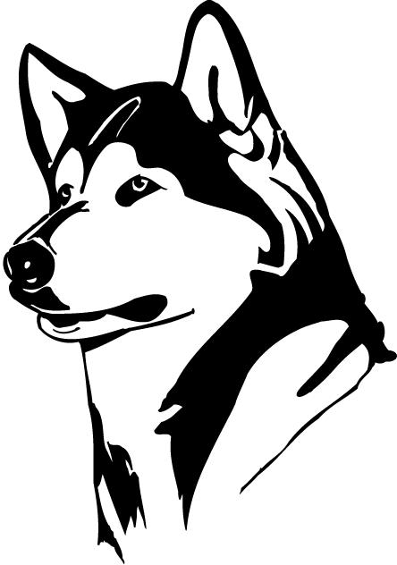 huskies mascot.