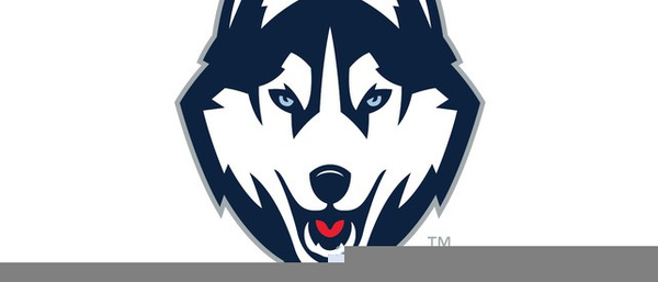 Huskies Mascot Clipart.