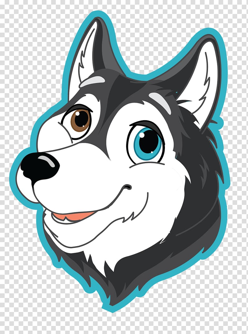 The Siberian husky Puppy Cat, husky transparent background PNG.