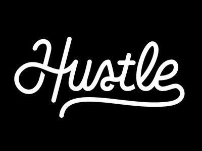 Hustle Logo.