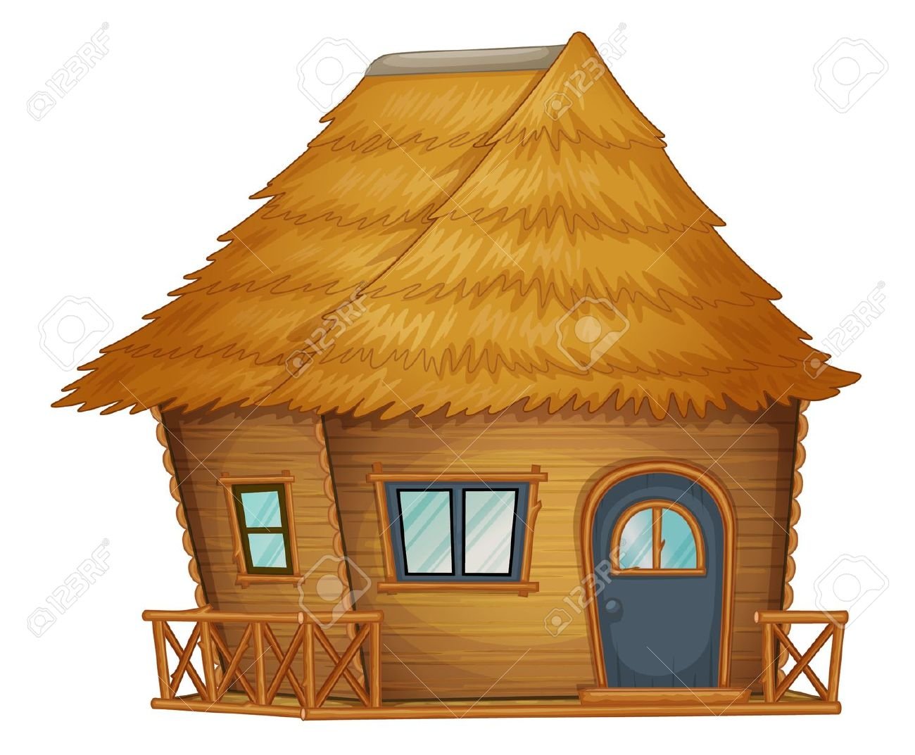 Hut House Clip Art.