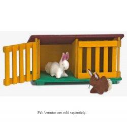Rabbit Hutch Clip Art.
