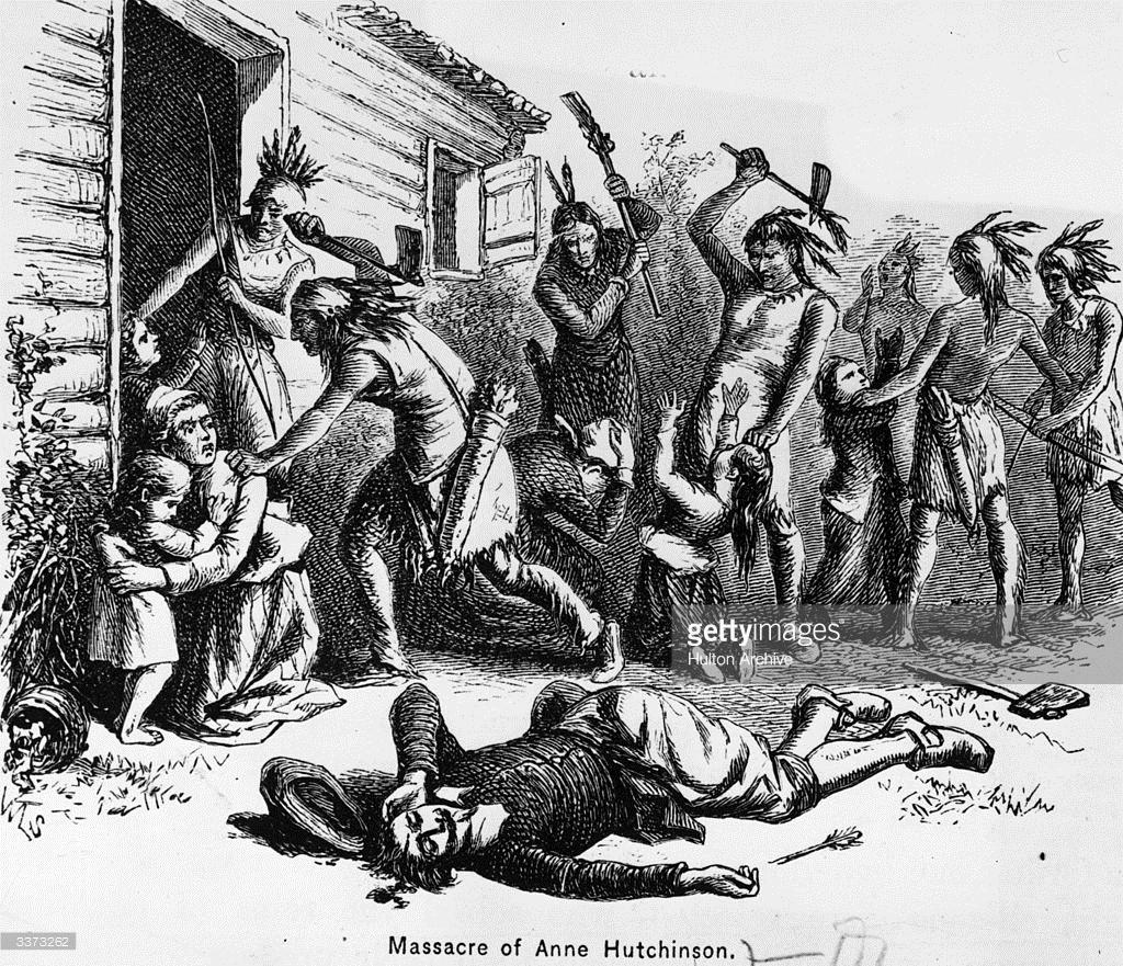 Anne Hutchinson Cartoon.