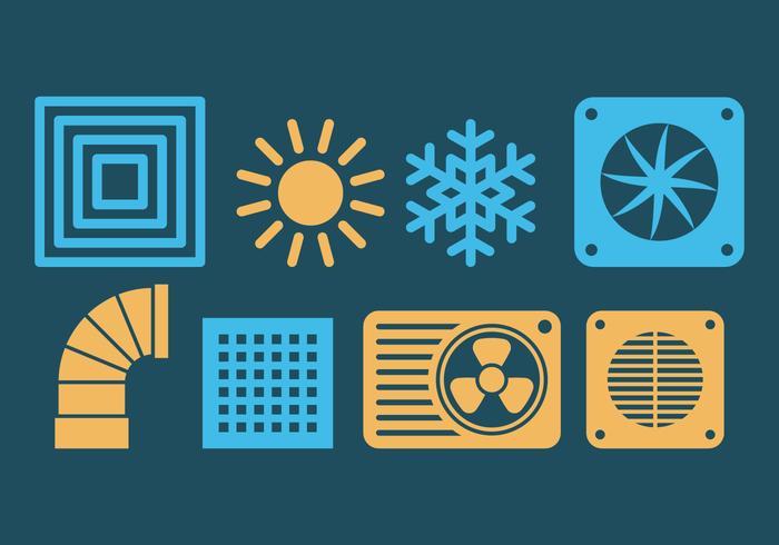 HVAC Icons.