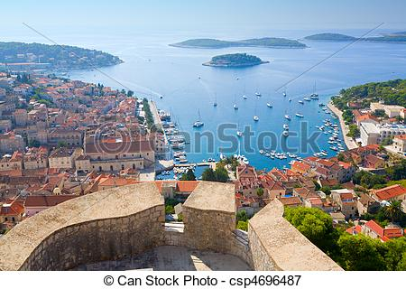 Picture of View of Hvar.