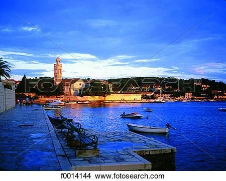 Stock Photo of Hvar Island f0014144.