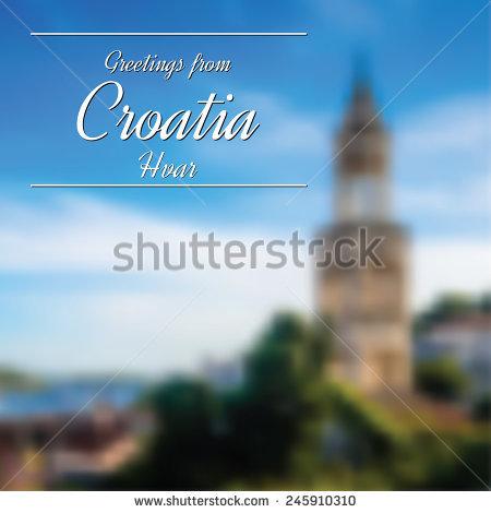 Hvar Croatia Stock Vectors & Vector Clip Art.
