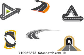 Highway Clip Art and Illustration. 20,221 highway clipart vector.