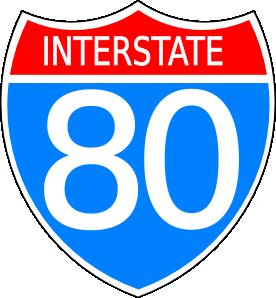 Interstate Highway Sign Clip Art at Clker.com.