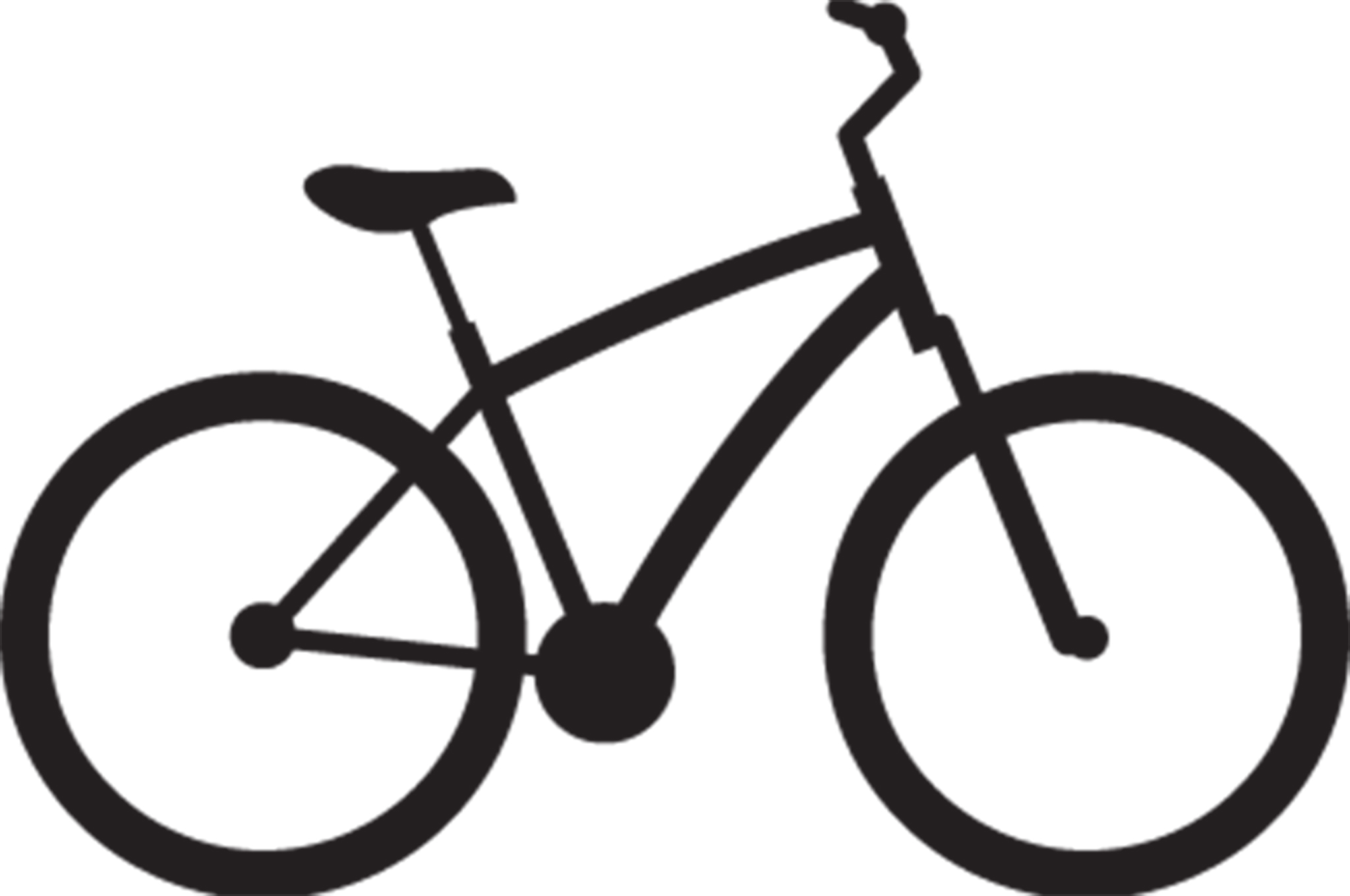Free Bicycle Clipart hybrid bike, Download Free Clip Art on Owips.com.