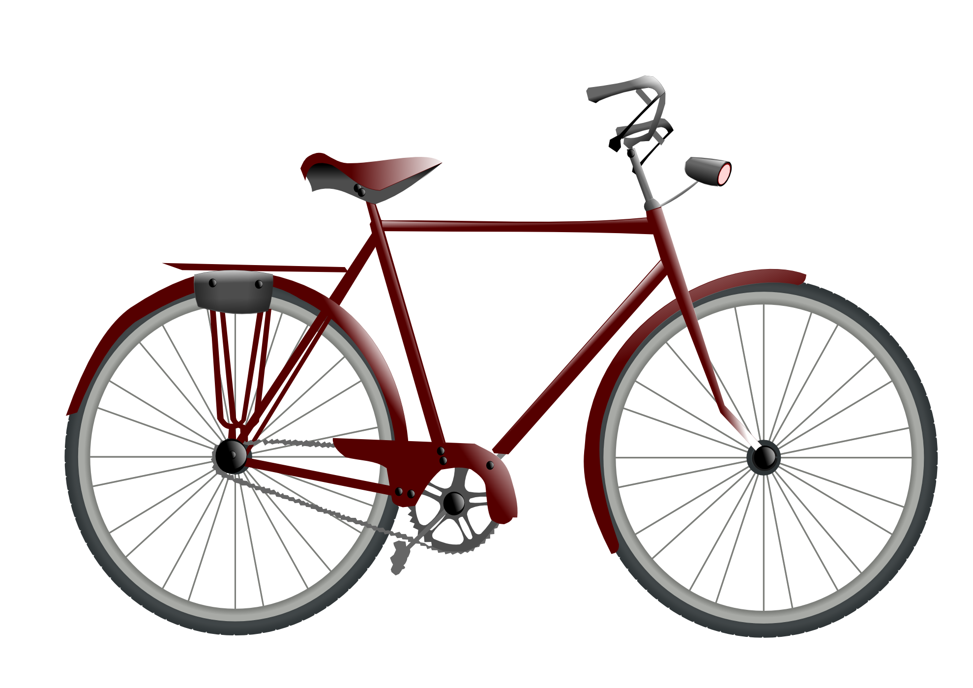 Image result for bicycle with basket clipart transparent background.