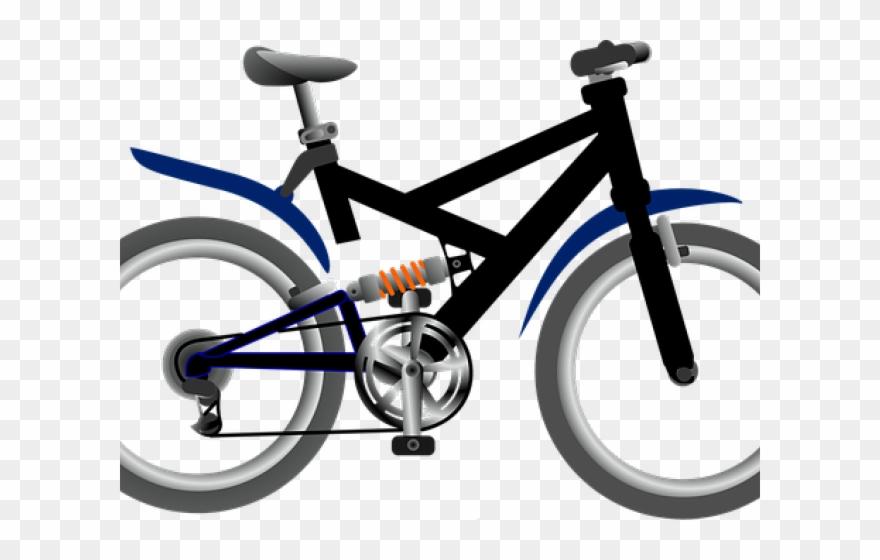 Bike Clipart Hybrid Bike.