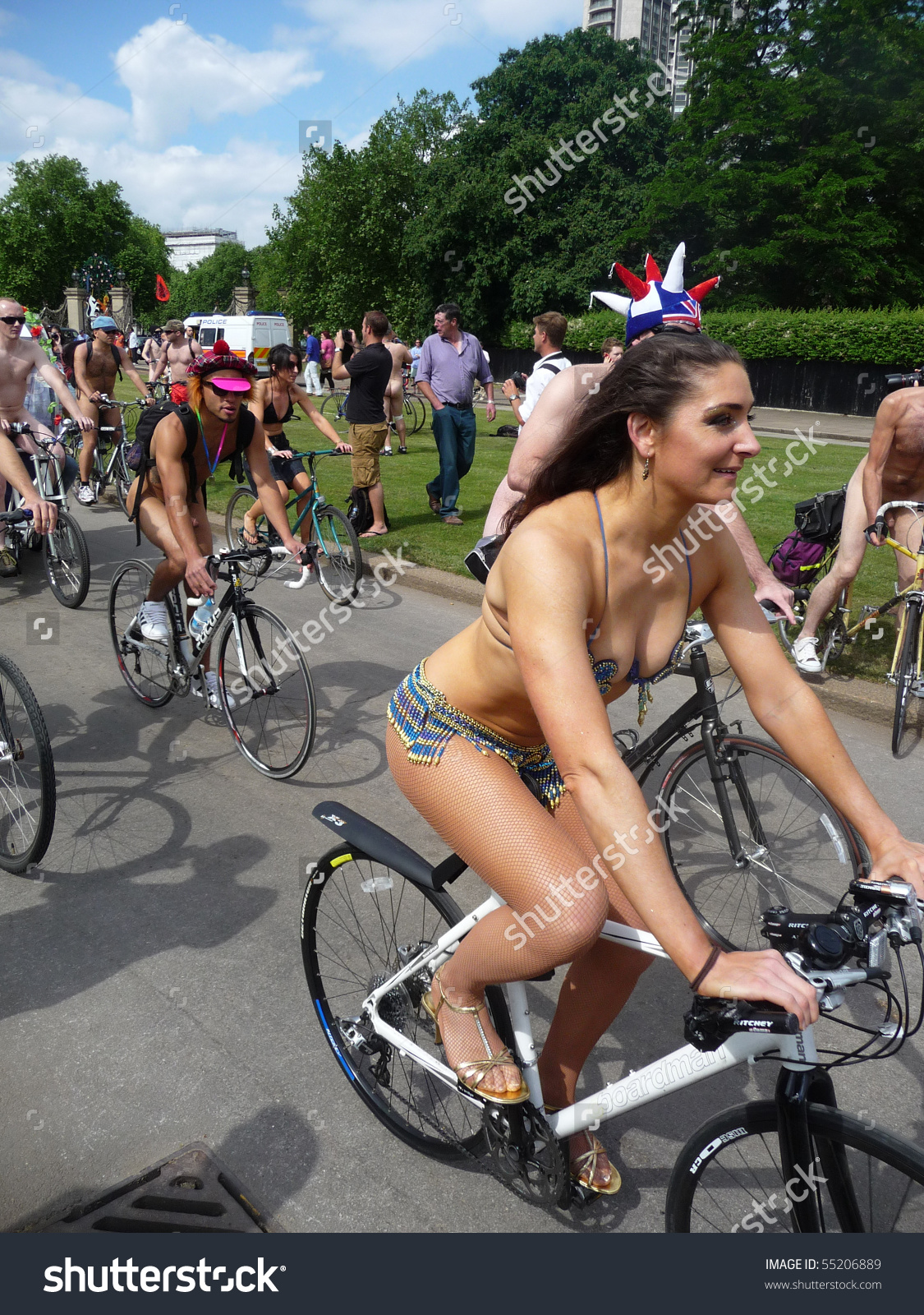 London June 12 World Naked Bike Stock Photo 55206889.