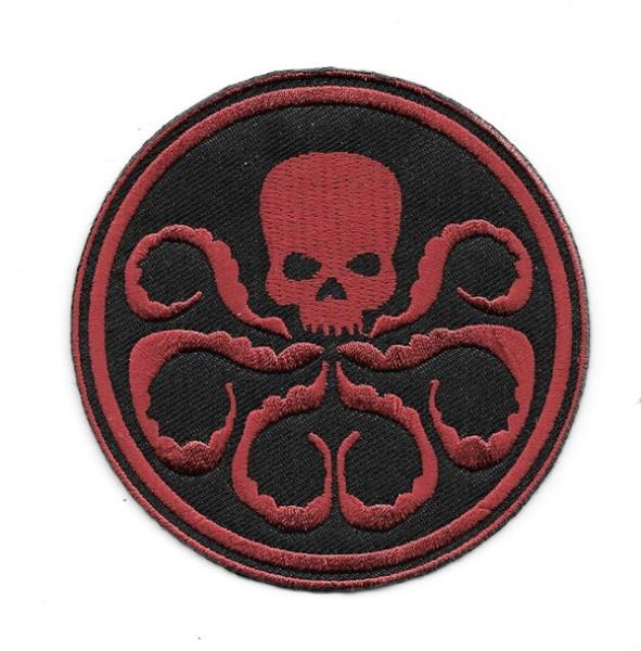 Details about Marvel Comics Captain America Movie Hydra Logo Embroidered  Patch, NEW UNUSED.