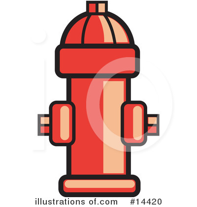 Hydrant Clipart #14420.