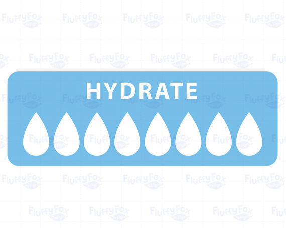 Hydration Clipart.