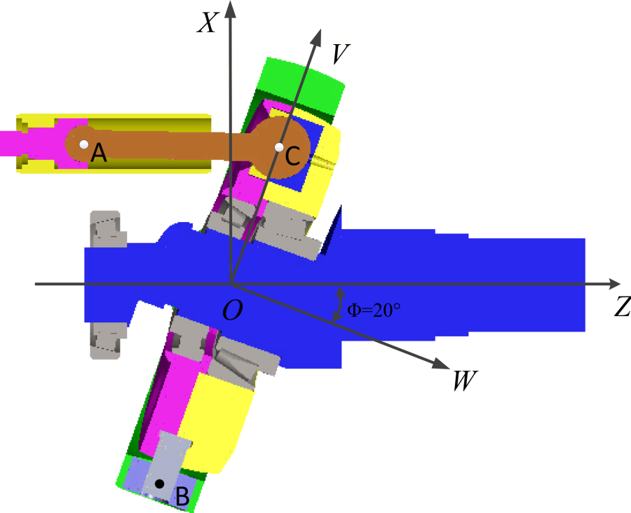 Design and Research on the New Type Water Hydraulic Axis Piston.