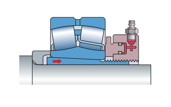 SKF Hydraulic nuts HMV E series.