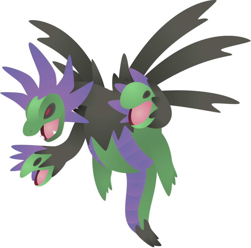 635 Shiny Hydreigon by DasRuedi on DeviantArt.