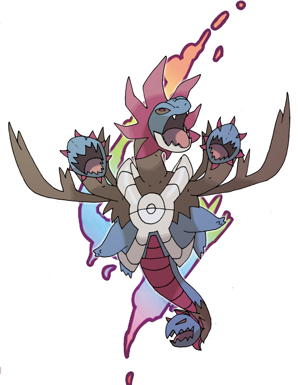 Hydreigon on Dragons.