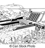 Hydroelectric Clip Art and Stock Illustrations. 1,092.