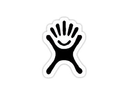 HYDROFLASK LOGO Sticker in 2019.