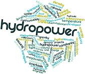 Stock Illustration of Word Cloud Hydropower k23728847.