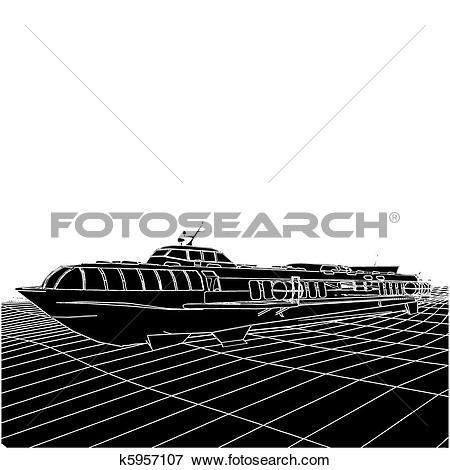 Hydrofoil clipart #4