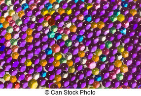 Stock Images of Color balls, hydrogel beads csp41374558.
