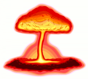 Ivy Mike First Hydrogen Bomb Clip Art Download.