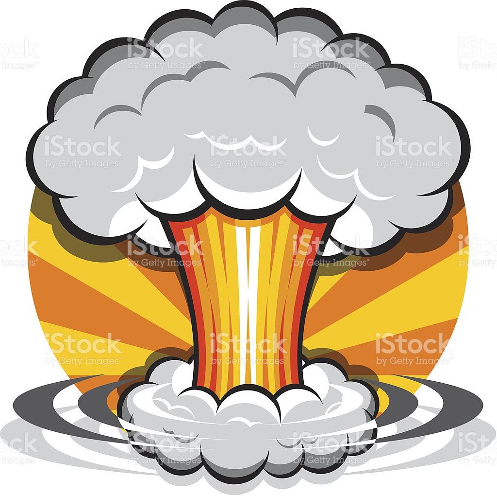 Cartoon Mushroom Cloud stock vector art 148771681.