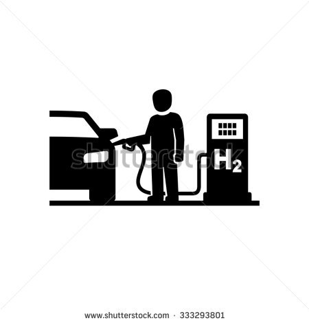 Hydrogen Fuel Cell Car Stock Images, Royalty.