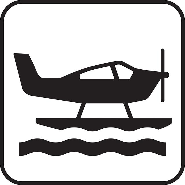 Free vector graphic: Waterplane, Aeroboat, Floatplane.